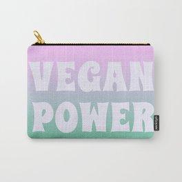 Vegan Power Vegetarian Workout Carry-All Pouch