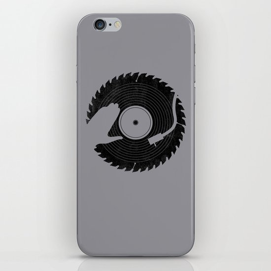 That DJ sure can cut iPhone & iPod Skin