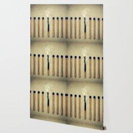 one burnt match Wallpaper