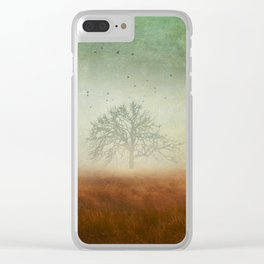 evolving mystery Clear iPhone Case
