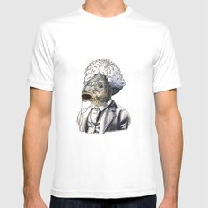 Carp Twain Mens Fitted Tee White X-LARGE