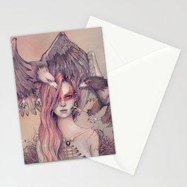 Eagle princess Stationery Cards