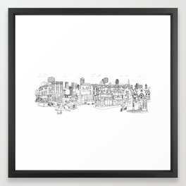 Street Britain Framed Art Print