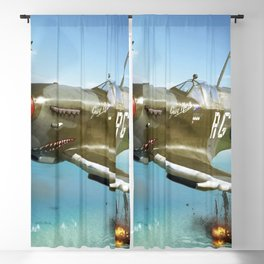 Spitfire Pacific Blackout Curtain