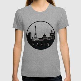 Paris City Skyline T-shirt