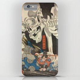 Takiyasha the Witch and the Skeleton Spectre iPhone Case