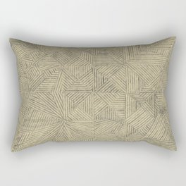 Topography of the Fold - Dragon Rectangular Pillow