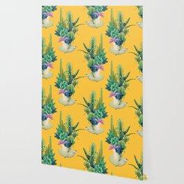 Arid garden Wallpaper
