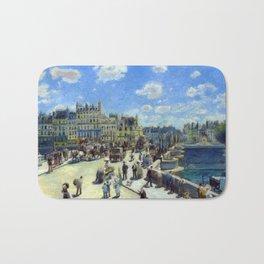 Auguste Renoir Pont Neuf, Paris Bath Mat