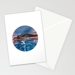 Snow Mountain No1 Stationery Cards