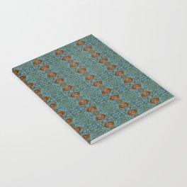 Geometric Blue Pattern Notebook