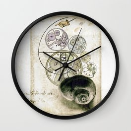 everthing's connected Wall Clock