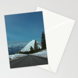 Black Butte Snow Cap. Stationery Cards