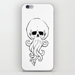 Tentacle Skull iPhone Skin