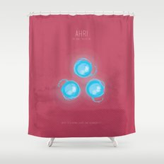 League of Legends: Ahri Shower Curtain