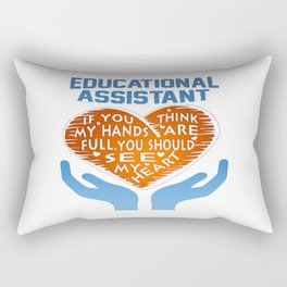 Educational Assistant Rectangular Pillow