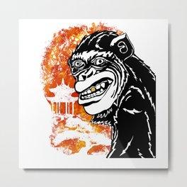 Year of the Monkey Metal Print