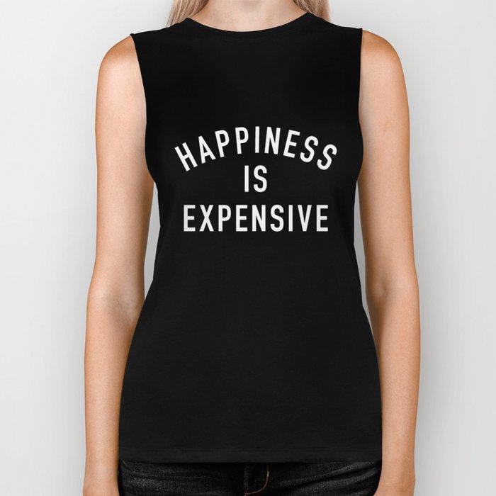 Happiness is Expensive Biker Tank