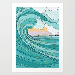 Summer Bowls Art Print