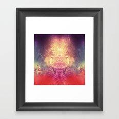 shryyn yf lyys Framed Art Print
