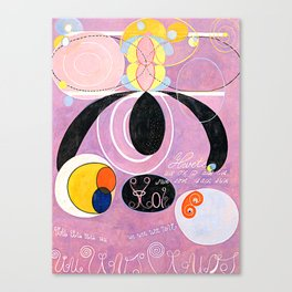 "Hilma af Klint ""The Ten Largest, No. 06, Adulthood, Group IV"" Canvas Print"