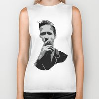 ryan gosling Biker Tanks featuring Ryan Gosling by Harry Martin
