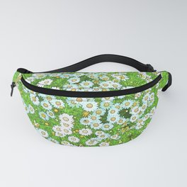 Daisies Painting Fanny Pack