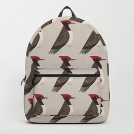 Whimsy White-bellied Woodpecker Backpack