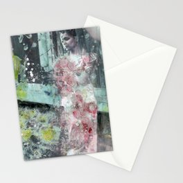 Fading Into Flowers Stationery Cards