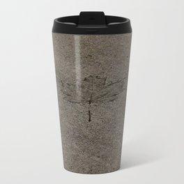 Cemented leaf Travel Mug