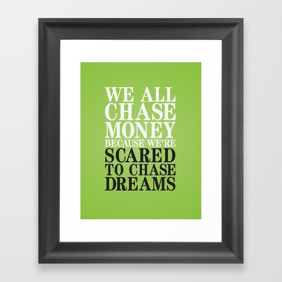 Dreamchaser Framed Art Print