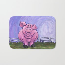 Animal Parade Pig Bath Mat