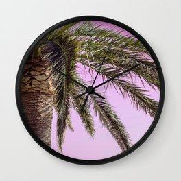 Pinky Sky Wall Clock