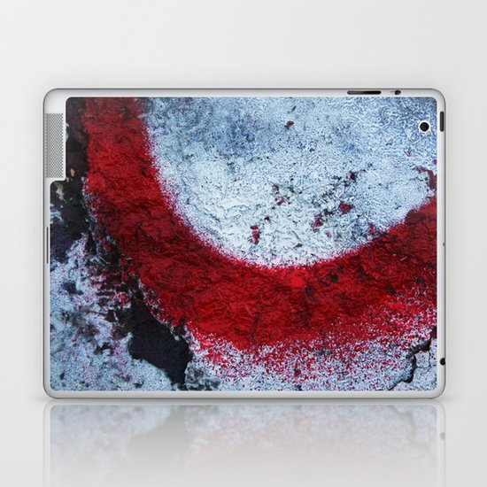 Red Paint Laptop & iPad Skin