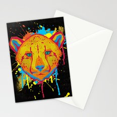 Cat Series: Cheetah  Stationery Cards