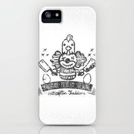 Crazy Clown iPhone Case