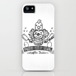 Crazy Clown iPhone Case
