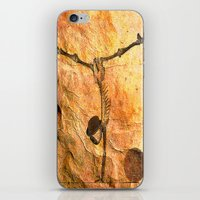 workout iPhone & iPod Skins featuring Workout for Monsieur Bone by Ganech joe