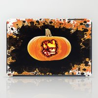 groot iPad Cases featuring Groot pumpkin  by grapeloverarts