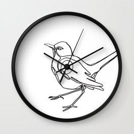 Loopy Bird Wall Clock