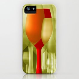 the party is over -b- iPhone Case