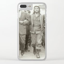 Che Guevara, Fidel Castro and Revolutionaries Clear iPhone Case
