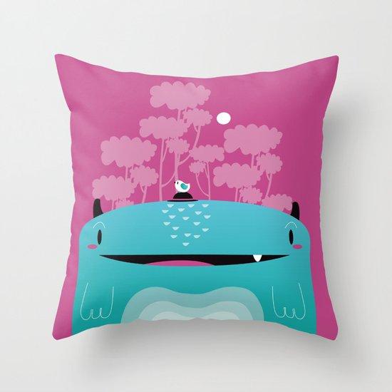 Moshi Throw Pillow