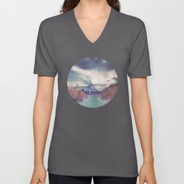 Into the Mystic (ANALOG zine) Unisex V-Neck