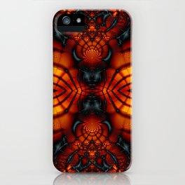 Fractal Art - Devil II iPhone Case
