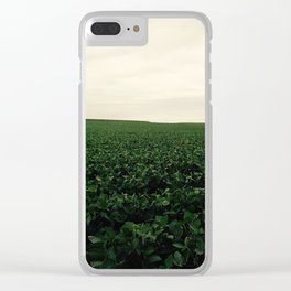 Soybean Skies Clear iPhone Case