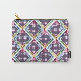 Gradient Rhombus Carry-All Pouch