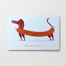Sausage Dog Metal Print