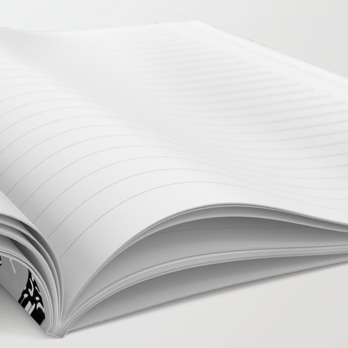 Trizza - triangle zig zag modern minimal trendy pattern print gender neutral non binary art for all Notebook