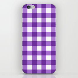 Purple Buffalo Check - more colors iPhone Skin